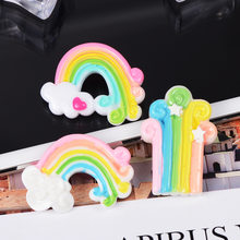 Resin Rainbow Accessories Super Light Clay Cloud Slime Kit Supplies Additive In The Slide DIY Creative Cream Gel Craft Materials(China)