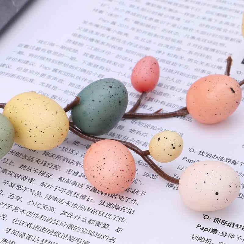 Trứng Phục Sinh Cây Trang Trí Sáng Tạo Nhánh Với Tranh Trứng Lò Xo Nhựa Dự Tiệc Cung Cấp