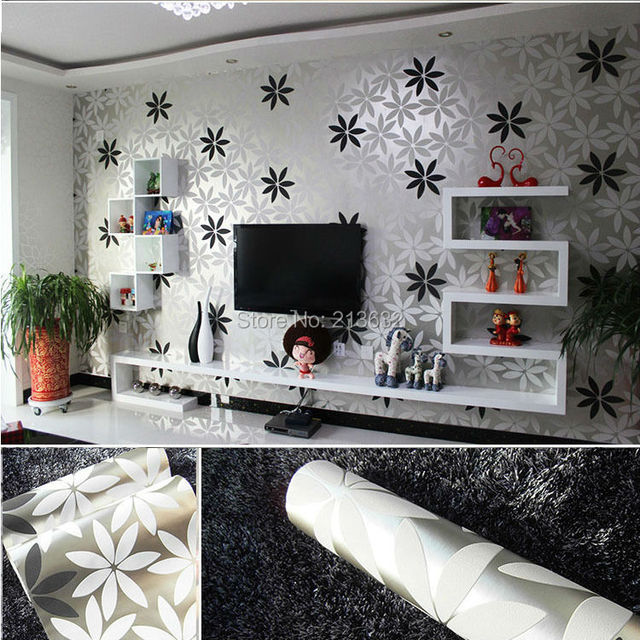 ZXqz 244 Mirror Effect Wallpaper Wall Paper Silver Reflective Cover Pvc Furniture Film