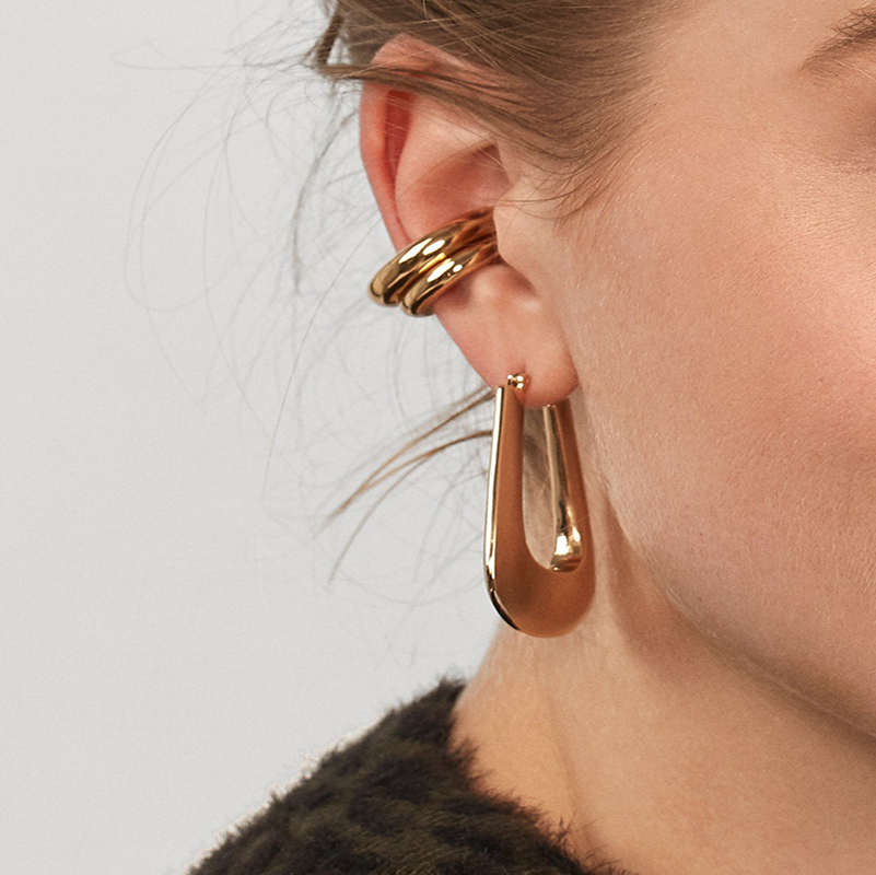 New-Punk-Gold-Alloy-Ear-Clip-Earrings-for-Women-Girls-Simple-Charm-Circle-Small-Earring-Party (1)