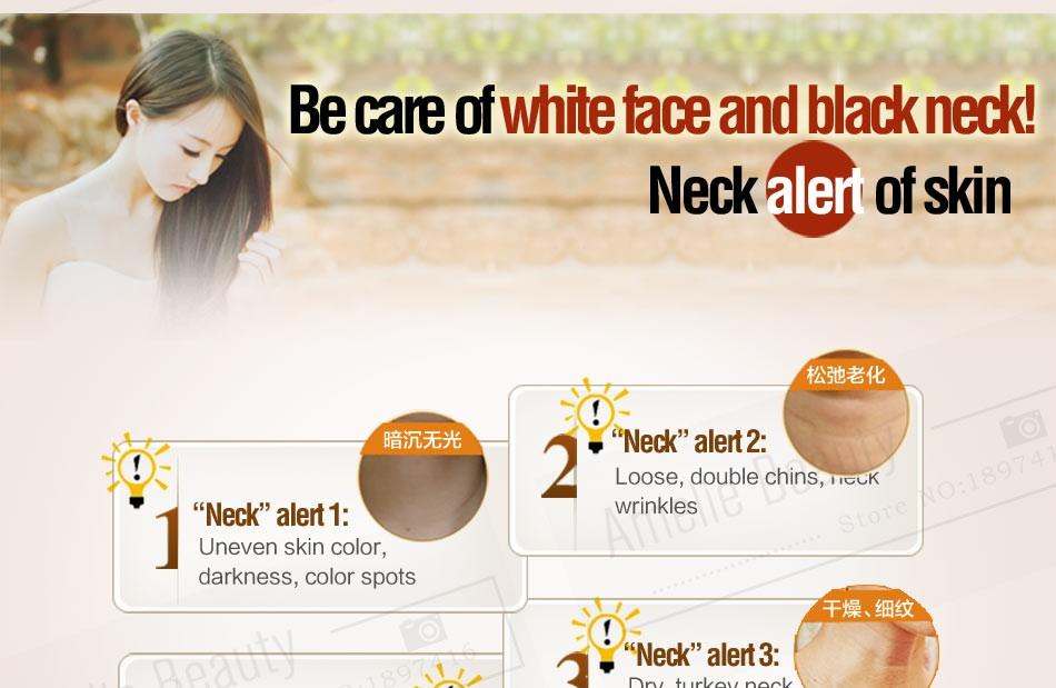 MEIKING Neck Cream Skin Care Anti wrinkle Whitening Moisturizing Firming Neck Care 100g Skincare Health Neck Cream For Women 6