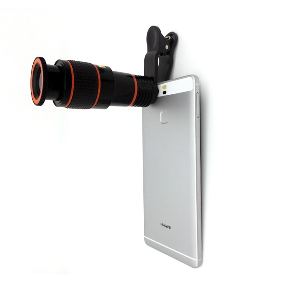 Universal 12X Zoom Telephoto Lens Mobile Phone Telescope Lens Telescopic Optical Lenses For iPhone 5s 7 Plus Samsung Huawei HTC
