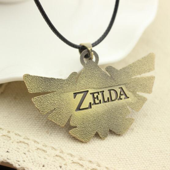 The Legend of Zelda leather rope necklace