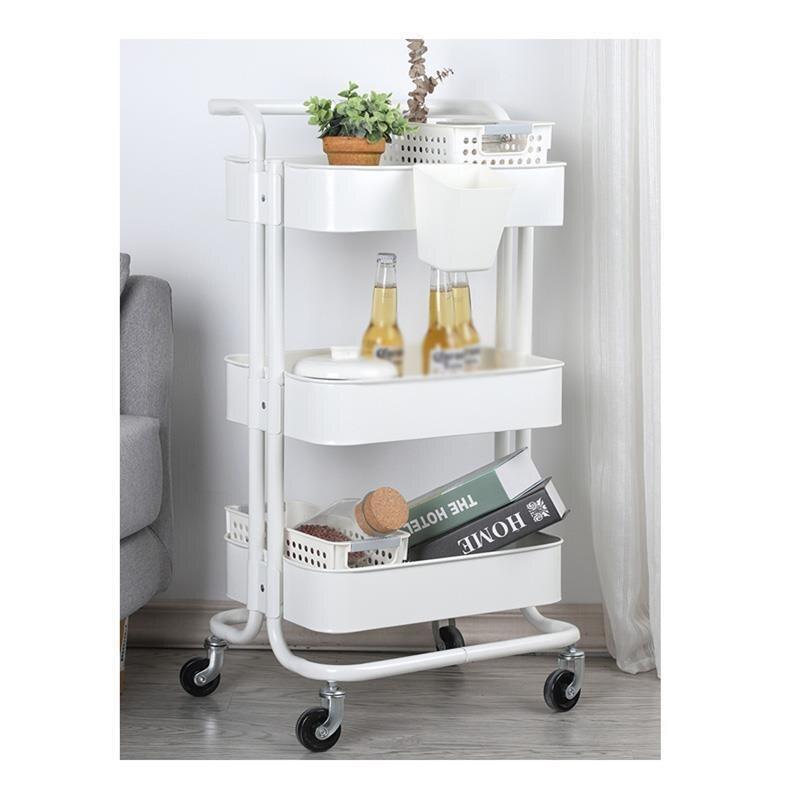Scaffale Rack Bathroom Organizacion Cosas De Cocina Estanteria Estantes Kitchen Storage With Wheels Trolleys Organizer Shelf