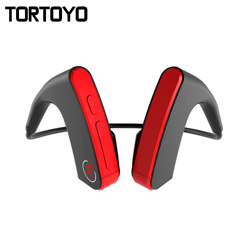 TORTOYO E1 Bone Conduction Earphone Wireless Headset Bluetooth Headphone Outdoor Sports CVC Bass 3D Stereo Ear Hook Auriculare each g1100 shake e sports gaming mic led light headset headphone casque with 7 1 heavy bass surround sound for pc gamer