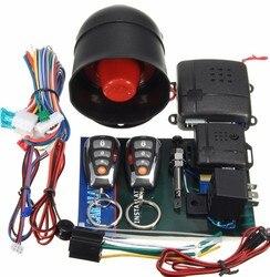 Für Toyota Auto Keyless Entry Auto Alarm System One Way Fernbedienung Sirene Sensor & Zentralverriegelung Sicherheit