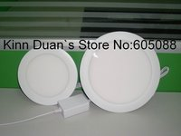 6 11w dimmable led lamp,led dimmable led panel lighting,SMD3528,0 750lm,white,CE&ROHS,with power supply+RF remote control