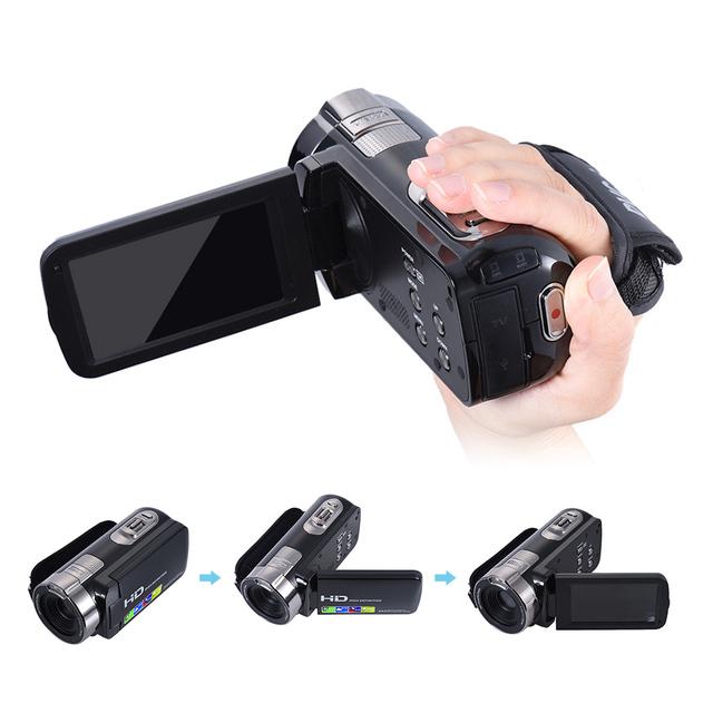 Digital Video Camera HDV-302P 24MP 1080P Full HD Digital Camera 16X Digital Zoom 3.0 Inch Anti-shake 3.0MP CMOS DV Camcorder