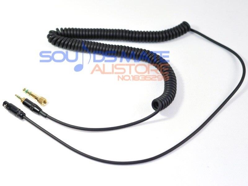 Sostituzione generico a spirale cuffie dj cable wire per akg q701 k702 k271 k272 k240 mkii k242 cuffie 1-3 metri