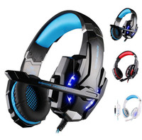 KOTION EACH G9000 3 5mm Gaming Headphone Headset Earphone Headband With Microphone LED Light For PS4