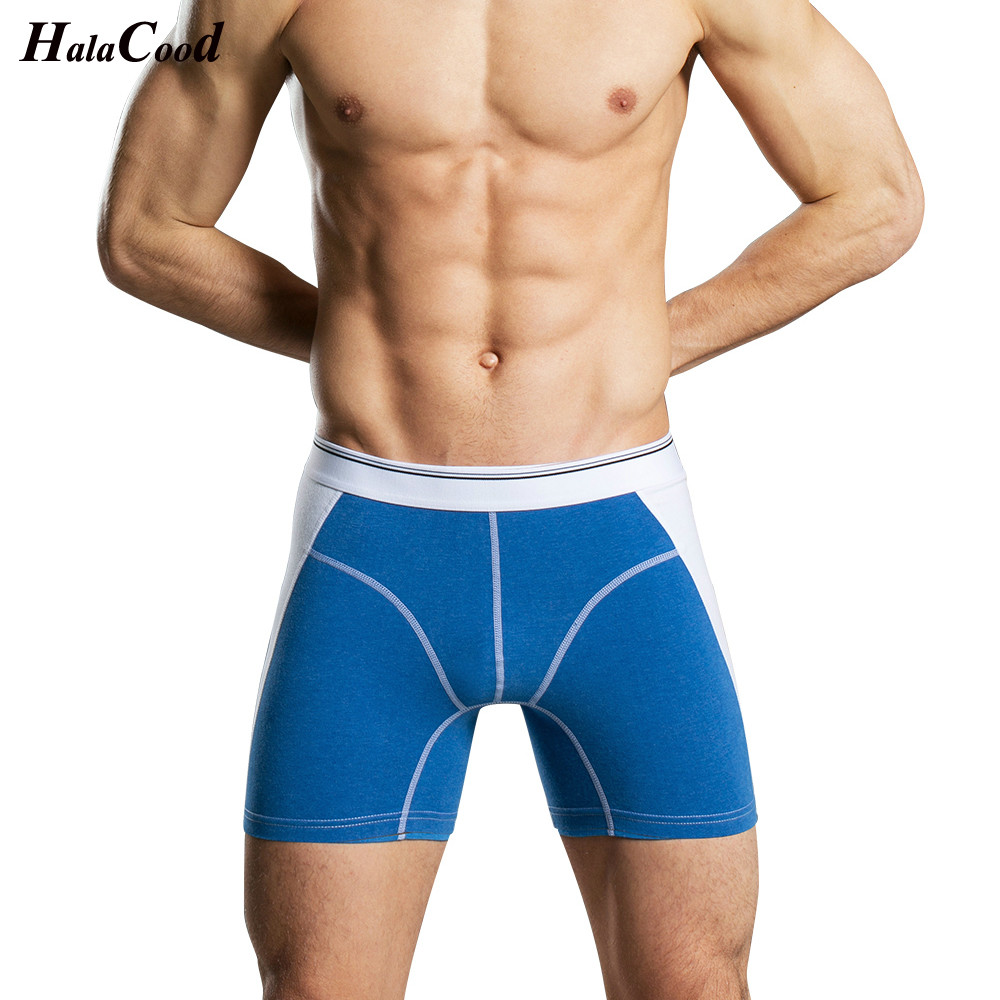Fashion Sexy Cotton Men Underwear Boxers Men Cueca Striped Boxers Shorts Male Plus Size Panties U Convex Men Underpants Shorts