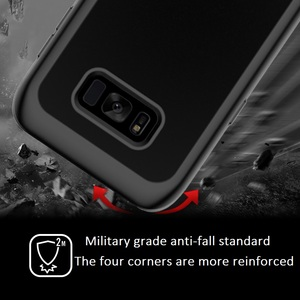 Image 4 - Armor 360 Full Protect For Samsung Galaxy S10 Fundas S8 S9 Plus S10 Lite Note10 Case Cover transparent PC+TPU+Silicon Shockproof