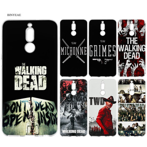 Case for Huawei Mate 20Lite 20Pro Case for Huawei P20 P30 P40 Lite P30 Pro Honor 8X 9X Pro 10 Lite The Walking Dead TWD Cover(China)