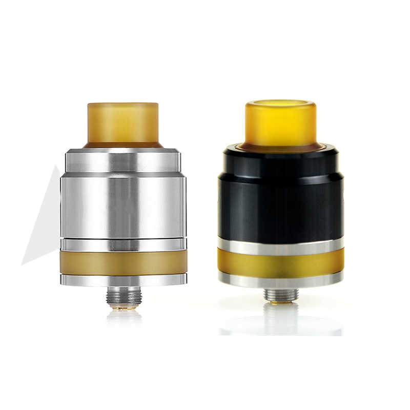 The Flave RDA Atomizer 24mm Single Coil Flavor e Cigarette Tank Rebuildable Dripping Adjustable Airflow RTA Atomizer