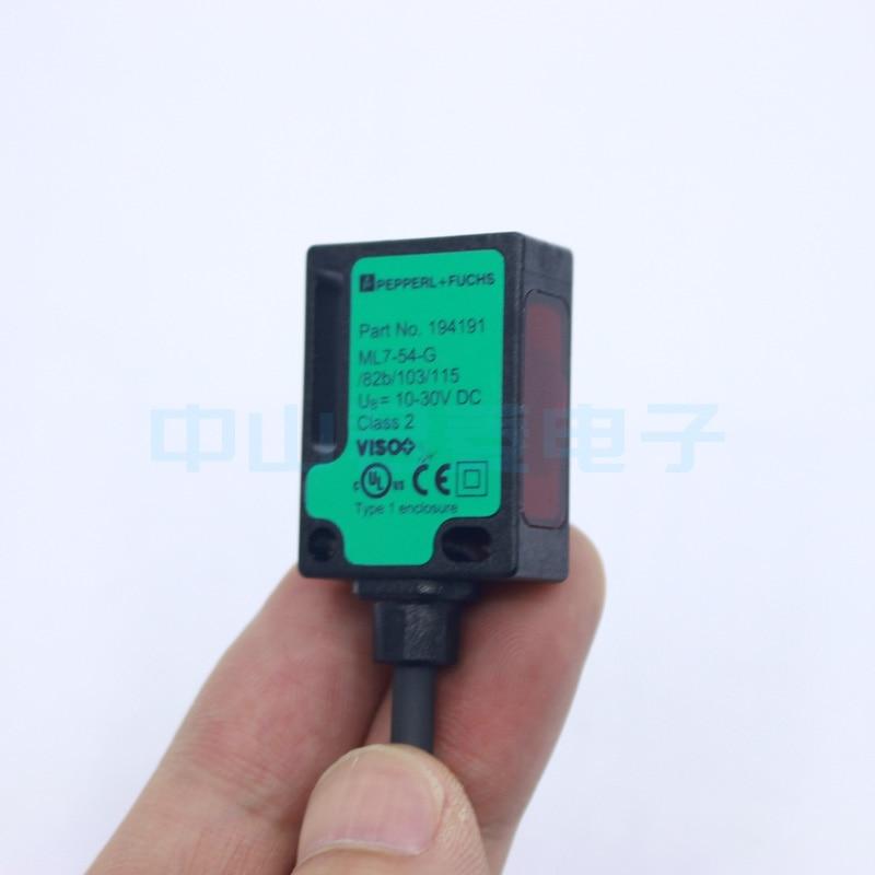Livraison gratuite haute qualité P + F fois ML7-54-G82b/103/115b interrupteur photoélectrique capteur réflecteur spot d'origine