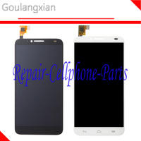 Black White Full LCD Display Touch Screen Digitizer Assembly For Alcatel One Touch Idol 2 6037