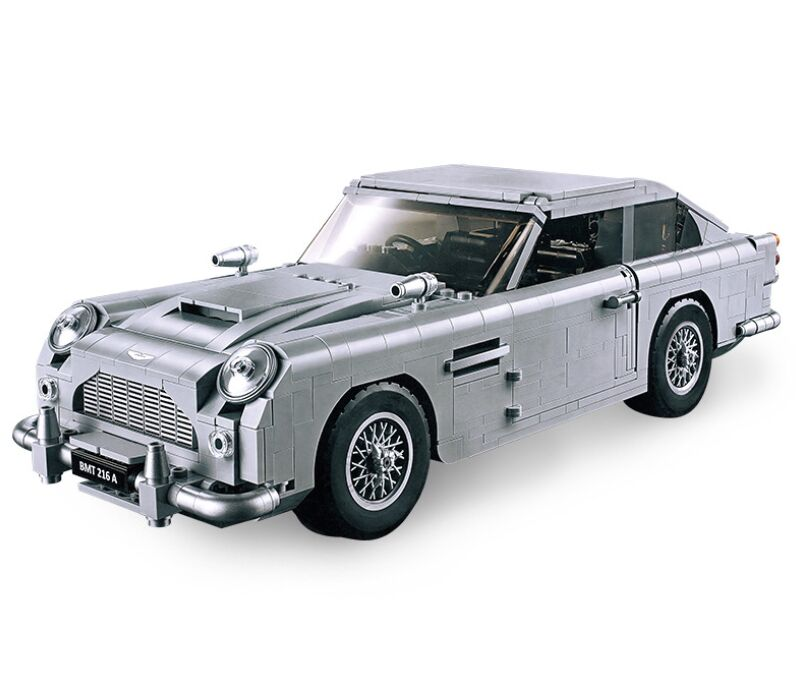 Technic Series 10262 Aston Martin DB5 Set Building Blocks Bricks Children  Model Toys Compatible Legoinglys Technic Classic Car