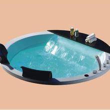 1700 мм капля в джакузи бассейн Ванна акриловая гидромассажная встроенный серфинг спа-NS3162A