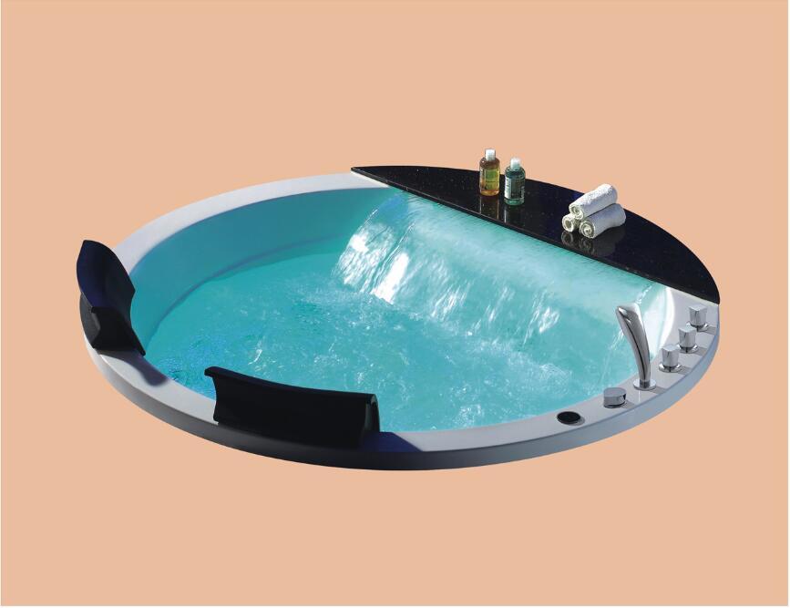 1700mm bain à remous baignoire acrylique Hydromassage intégré SPA de surf NS3162A