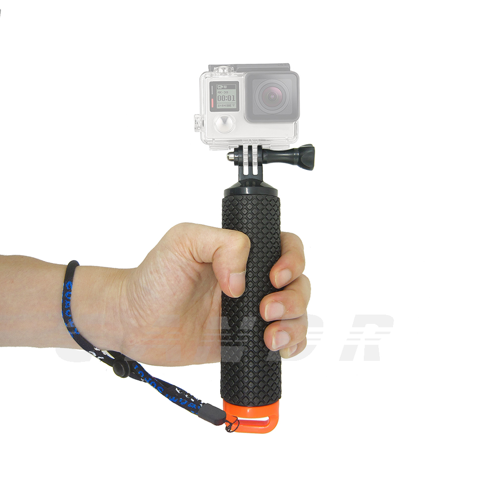 Floating Hand Grip For Gopro hero 5 Float bobber stick For Go pro SJCAM Handle pole monopo accessory Sport Action camera 10 bz81 universal floating grip handle mount accessory for gopro hero 4 2 3 3 yellow