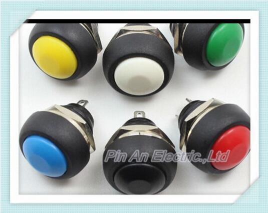 10PCS PBS-33b 12mm, no lock switch Small button switch waterproof switch since the reset [bella]usa usa ch 166k99z83 small reset switch illuminated pushbutton switch openings 9mm 1pcs lot