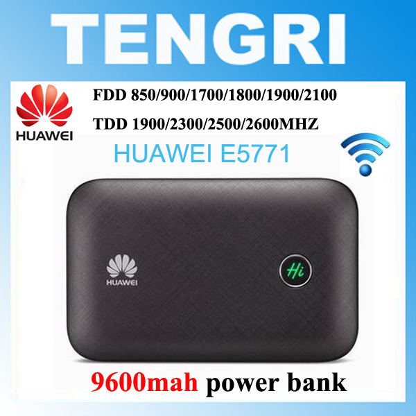 free shipping Huawei E5771 E5771h 937 9600mAh Power Bank 4G LTE MIFI Modem WiFi Router Mobile