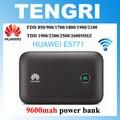 Original huawei e5771 e5771h-937 9600 mah banco de la energía 4g lte router wifi hotspot móvil