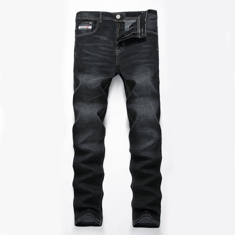 Brand Jeans Men Jeans Casual Fashion Male Pants Black Denim Male Long Pants Overalls Men Straight Men's Tactical Jeans men s cowboy jeans fashion blue jeans pant men plus sizes regular slim fit denim jean pants male high quality brand jeans