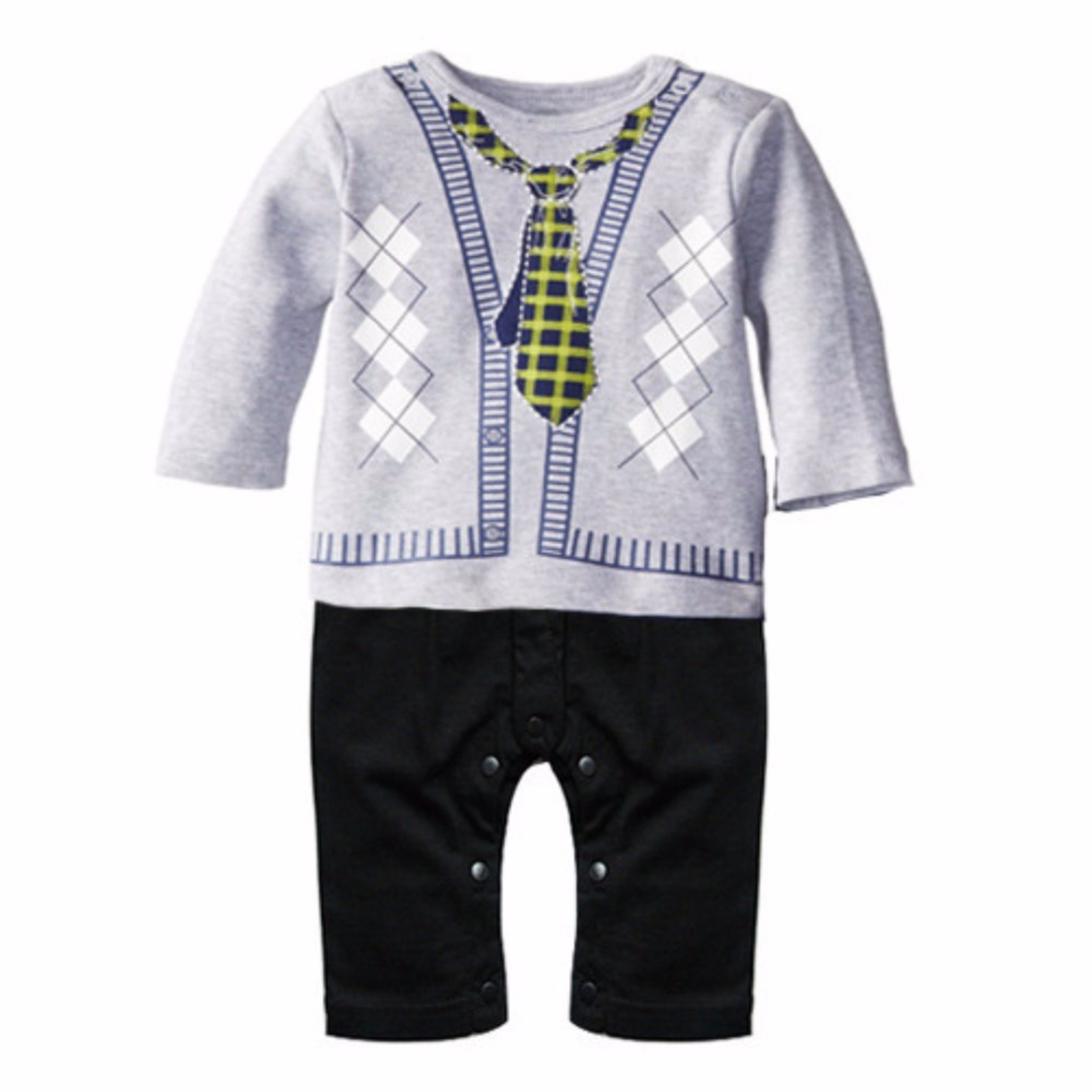 2018 Cute Baby Boy Girl Infant Summer Cartton Romper Jumpsuit Bodysuit Clothes Outfit New