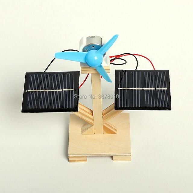 DIY Wooden Solar Fan  4