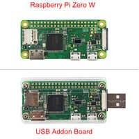 Nouvelle carte Raspberry Pi zéro W avec WIFI et Bluetooth 1GHz CPU 512 mo RAM 1080P HD mieux que Raspberry Pi zéro V 1.3