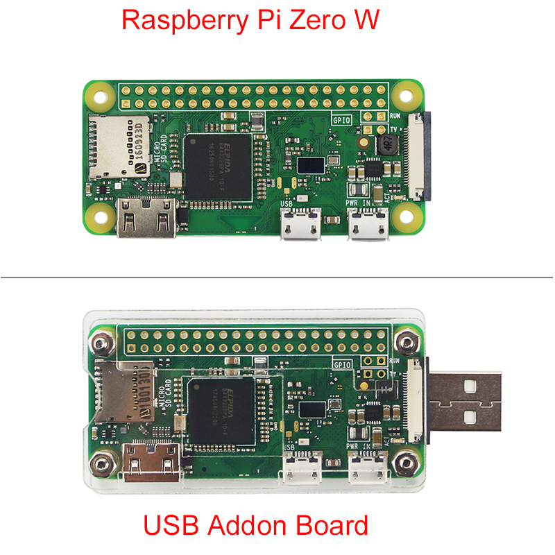 Nova Raspberry Pi Zero W Board com WIFI & Bluetooth 1GHz CPU 512MB RAM HD 1080P Melhor zero do Raspberry Pi 1.3 V