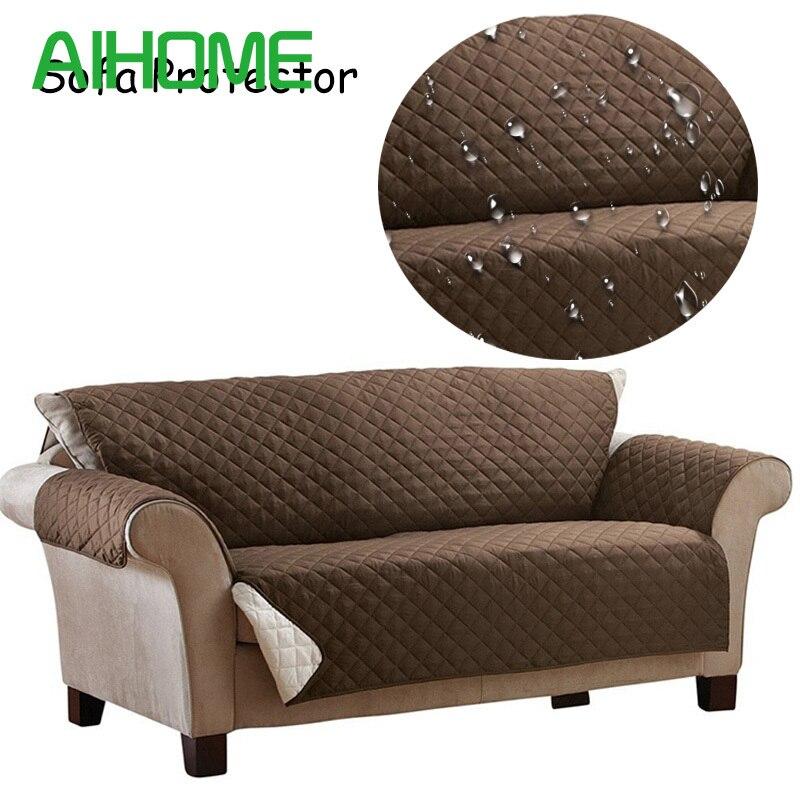 100% Polyester Wasserdicht Sofabezug Anti-skid schmutz-beweis Sofa Protector Wildleder Hund Kissen Matte Sofa Slip abdeckungen