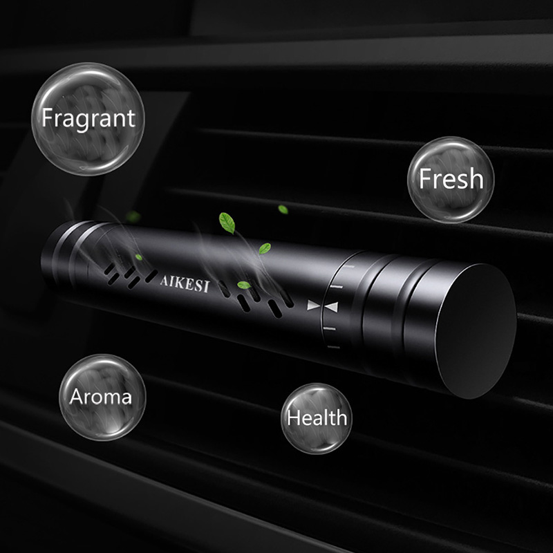 Image 2 - Car Accessories Interior Car Air Freshener Refill Flavoring In Auto Perfume Clip Air Purifier Car Smell Aroma Diffuser Fragrance-in Ornaments from Automobiles & Motorcycles