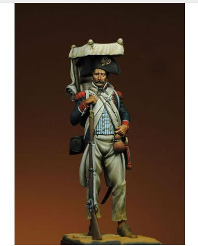1/24 75MM ANCIENT Infantry Grenadier IN Egypt WITH BASE    Toy Resin Model Miniature Resin Figure Unassembly Unpainted