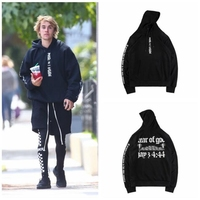 2019 New Fear Of God 4:44 Sweatshirts Streetwear Hip Hop Fear Of God Hoodie Pullover Justin Bieber Black Fear Of God Sweatshirts