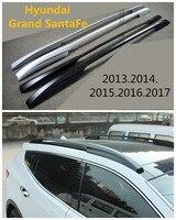 Авто Багажники Багажник Для Hyundai Grand SantaFe 2013.2014.2015.2016.2017 Высококачественный Алюминиевый Прокат Аксессуаров