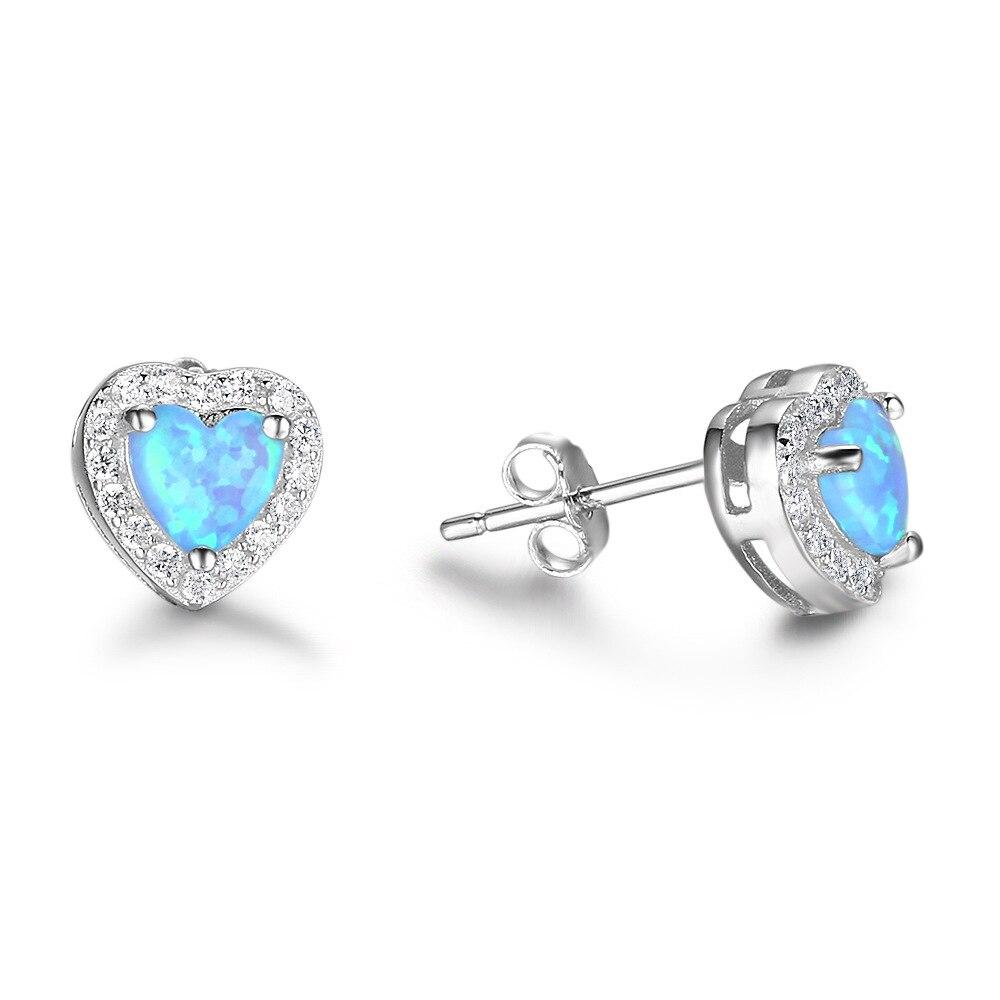 COP24 Super shiny women love heart shape ear stud,925 sterling silver earring for beloved lady цена