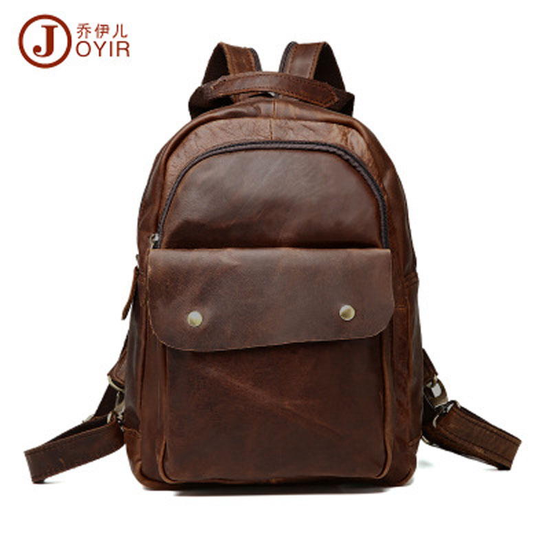YISHEN  Genuine Leather Luxury Women Backpack Casual Travel Bags Cowhide Leather Vintage Fashion School Bags For Girls QYRB307 hot sale women s backpack the oil wax of cowhide leather backpack women casual gentlewoman small bags genuine leather school bag