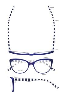 Image 4 - Новинка 2018, дизайнерские компьютерные очки ручной работы из ацетата, оправа для очков для молодых девушек, линзы с защитой от голубого спектра, компьютерные очки