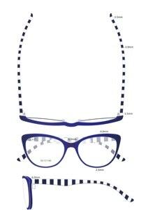 Image 4 - Gafas de acetato hechas a mano para ordenador, lentes antirayos azules para chicas jóvenes, lentes de ordenador, 2018