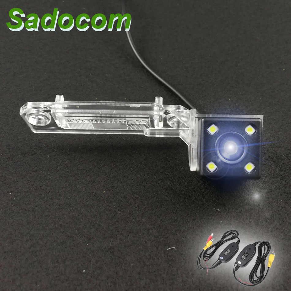 Автомобильная CCD камера заднего вида ночного видения для Skoda Superb VW Magotan Polo Bora Golf Jetta Passat CC Touran Caddy Multivan T5