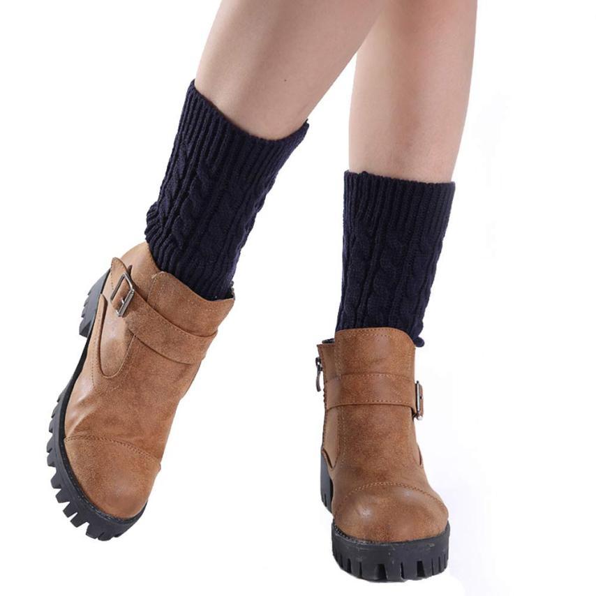 Beschouwend Korte Breien Sokken Beenwarmers Boot Cover 17oct14