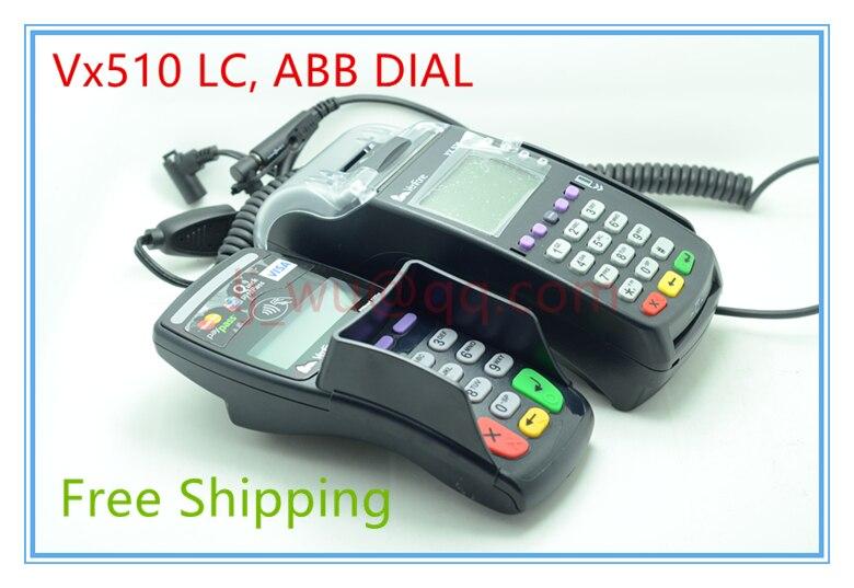 95% New VeriFone Vx520 LC, ABB DIAL, 128/32MB, STD KEYBOARD BLK POS Terminals