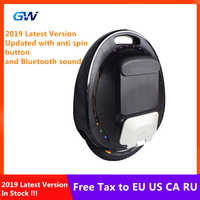 2019 The Newest GotWay Tesla 2 Self Balance Electric Scooter 2000W Motor 84V 1020WH 16 Inch Tire With Bluetooth Sound Skateboard