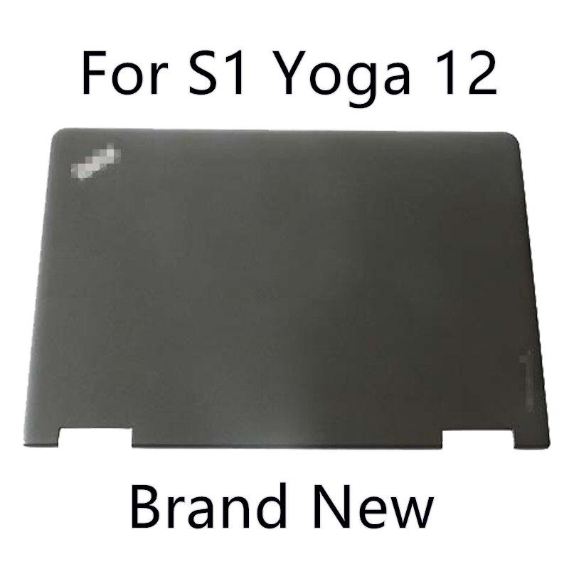 @1  Бренд ноутбука Thinkpad Lenovo S1 Yoga 12 A Shell 04X6448 Задняя крышка ЖК-экрана ★