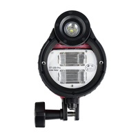 SeaFrogs ST 100 Pro Waterproof Flash strobe for A6500 A6000 A7 II RX100 I/II/ III/IV/V underwater Camera Housings Diving Case