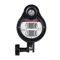 SeaFrogs ST Pro Impermeabile Flash strobe per A6000 A6500 A7 II RX100 I/II/III/IV/V Macchina Fotografica subacquea Custodie Caso di Immersione-in Flash da Elettronica di consumo su