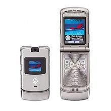 100% ХОРОШЕЕ качество Восстановленное Оригинал Motorola Razr V3 мобильный телефон один год гарантии + бесплатные подарки