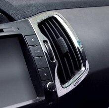 Комплект 6 шт. салона вентиляционное отверстие декоративной отделкой frame Тюнинг автомобилей чехол для Kia Sportage R 2011-2017 Car аксессуары
